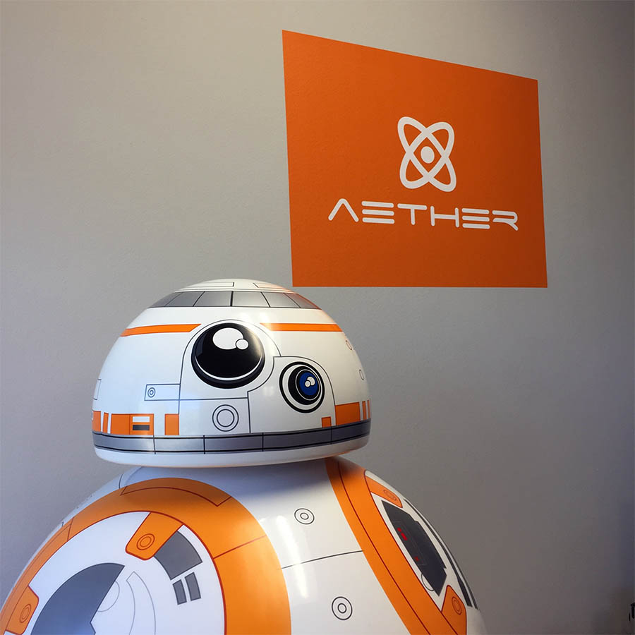 AETHER Marketing Communications - Industrial B2B Ad Agency